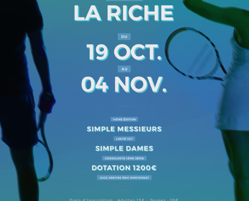 Tournoi Tennis Club La Riche